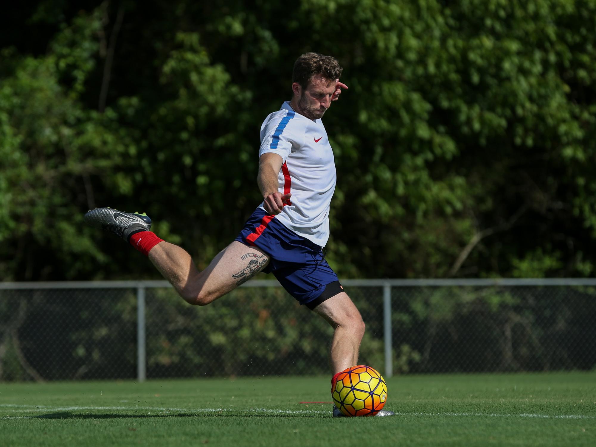 Josh Burnais plays for the USA Paralympics team