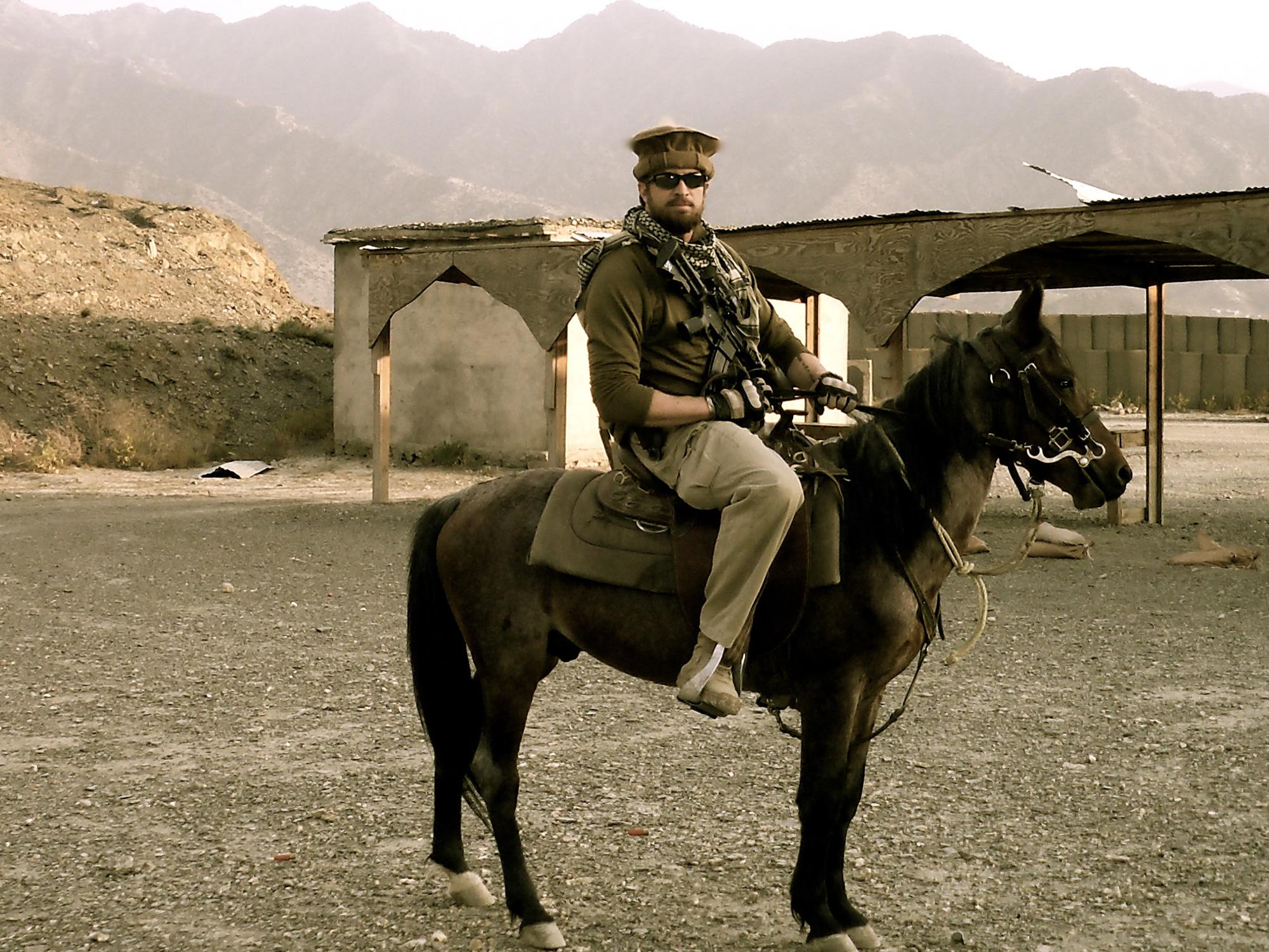 Seth Jahn on duty in Afghanistan