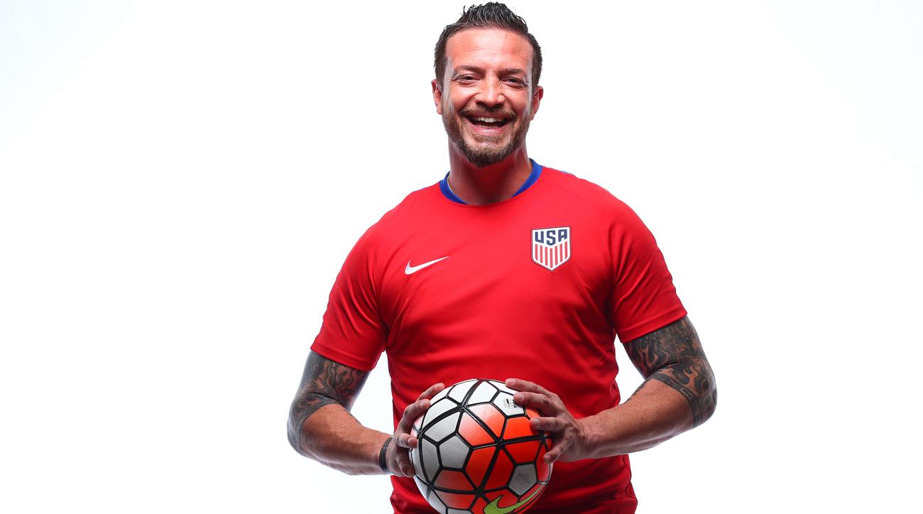 Seth Jahn plays for the USA Paralympics soccer team