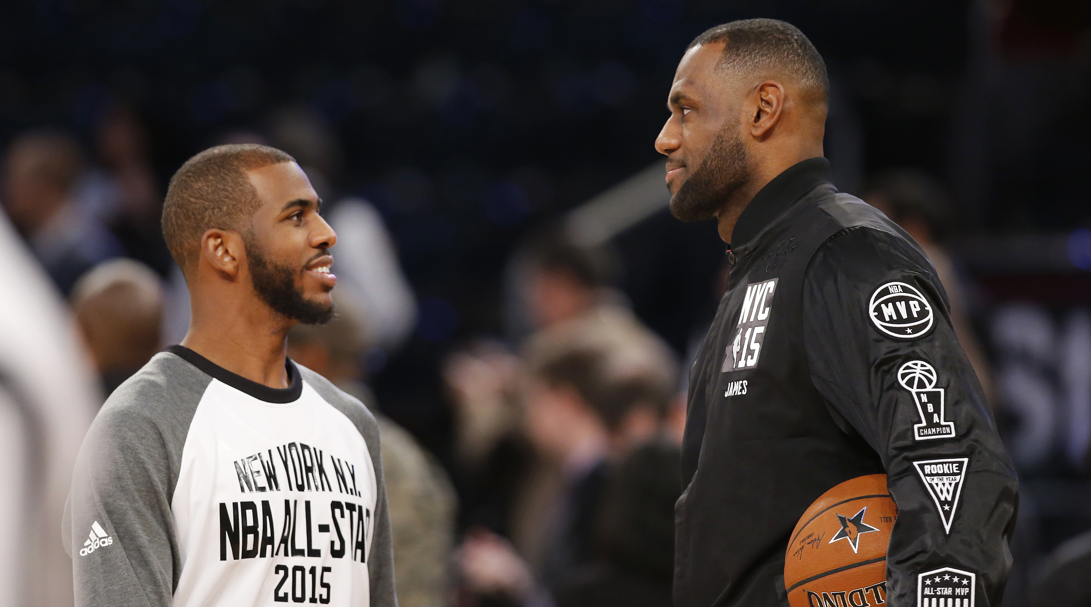 Lebron James And Chris Paul | Provincial Archives of ...