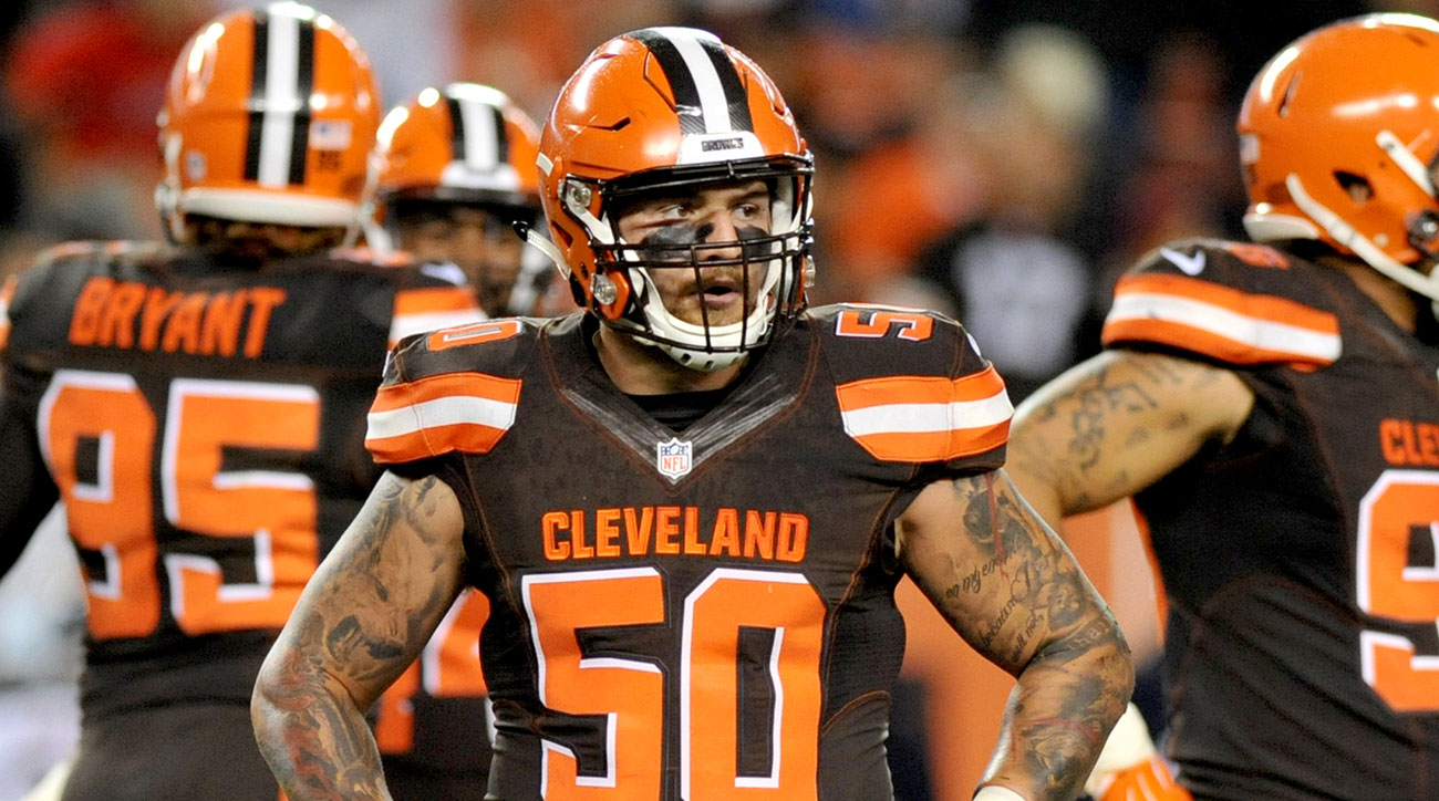 Browns rookie Scooby Wright.
