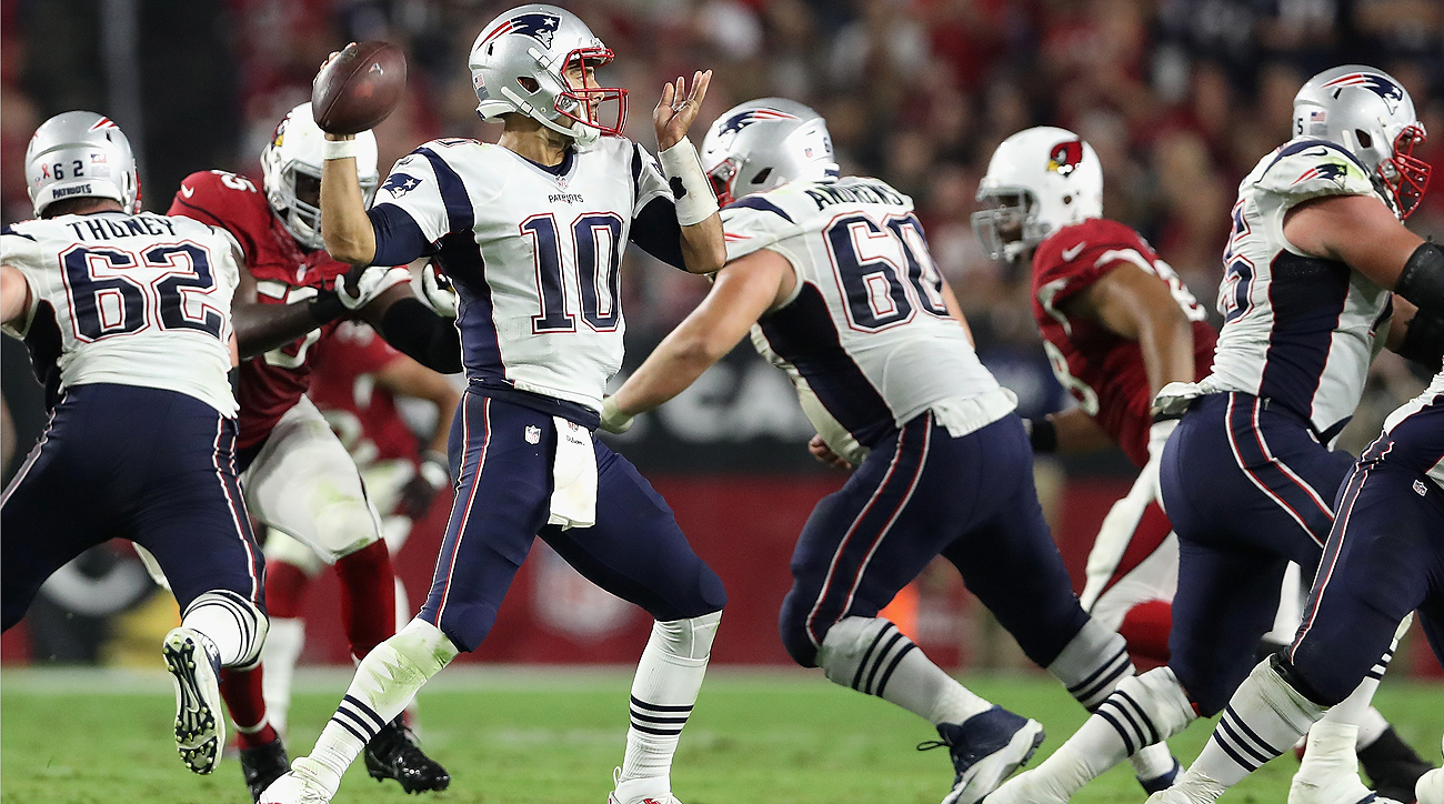 Jimmy Garoppolo was at his best in the clutch, completing 8-of-10 passes on third downs for 107 yards and seven first downs.