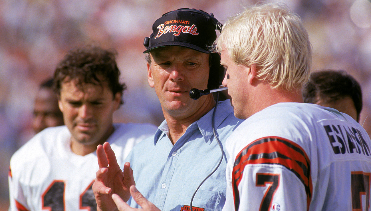 Sam Wyche coached the Bengals from 1984-91 and followed that with a four-year run in Tampa Bay.