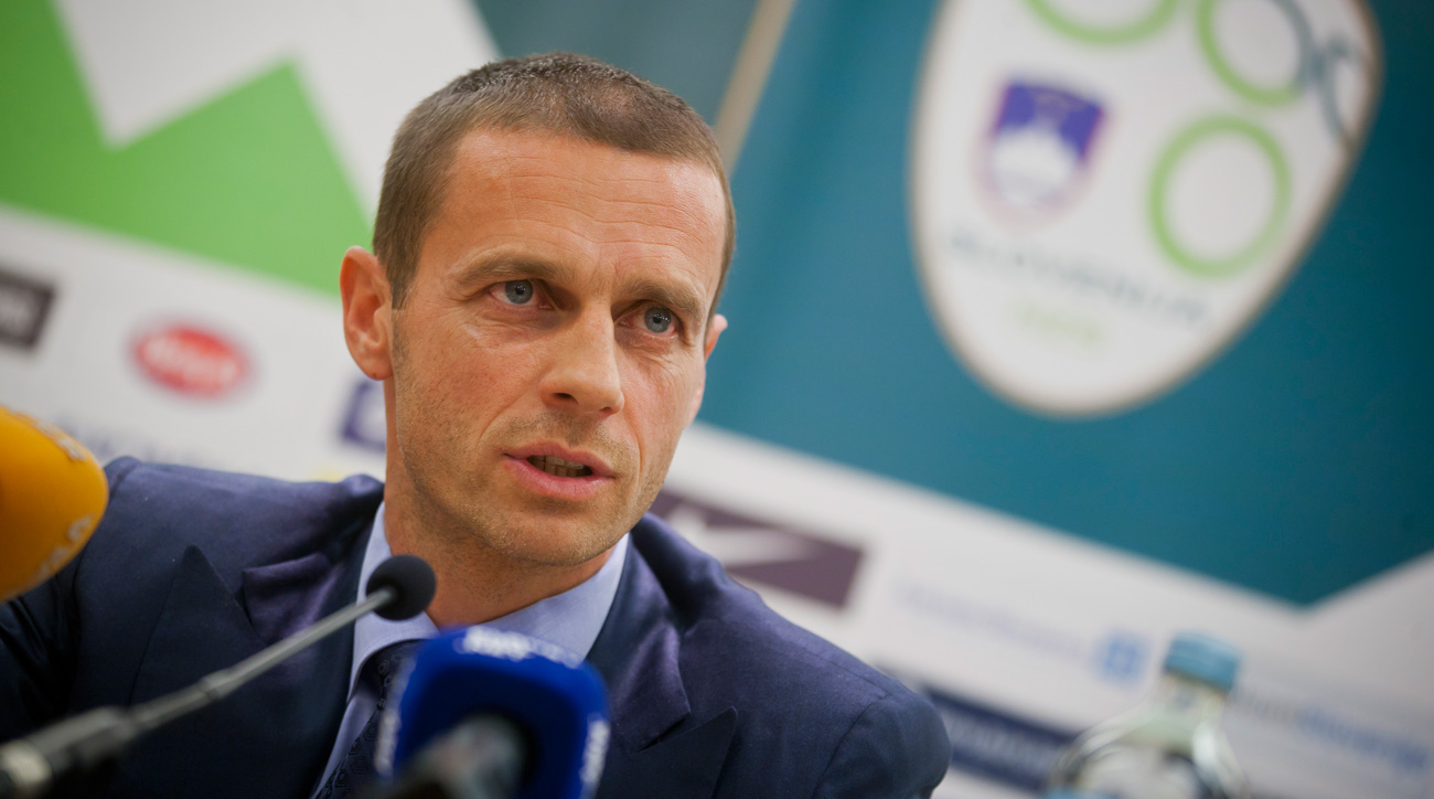 Slovenia's Aleksander Ceferin is the favorite in the UEFA election