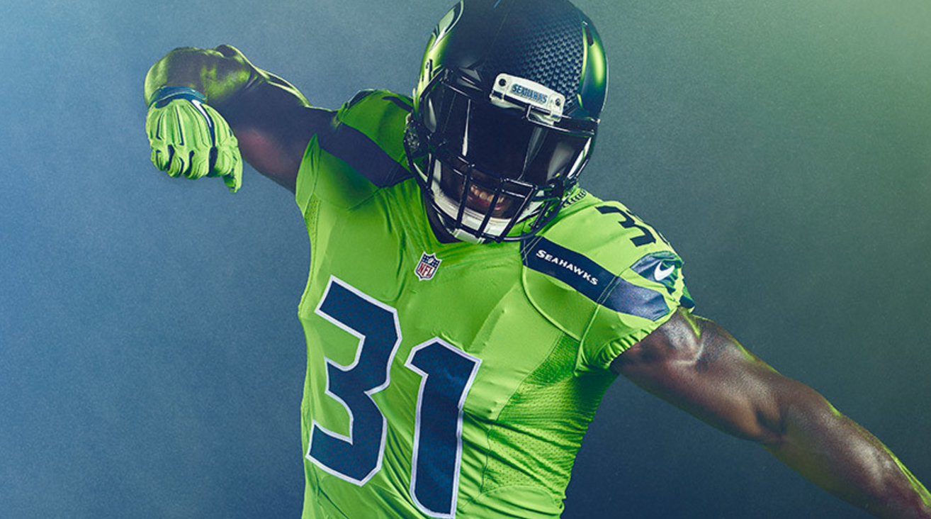 nfl colour rush jerseys