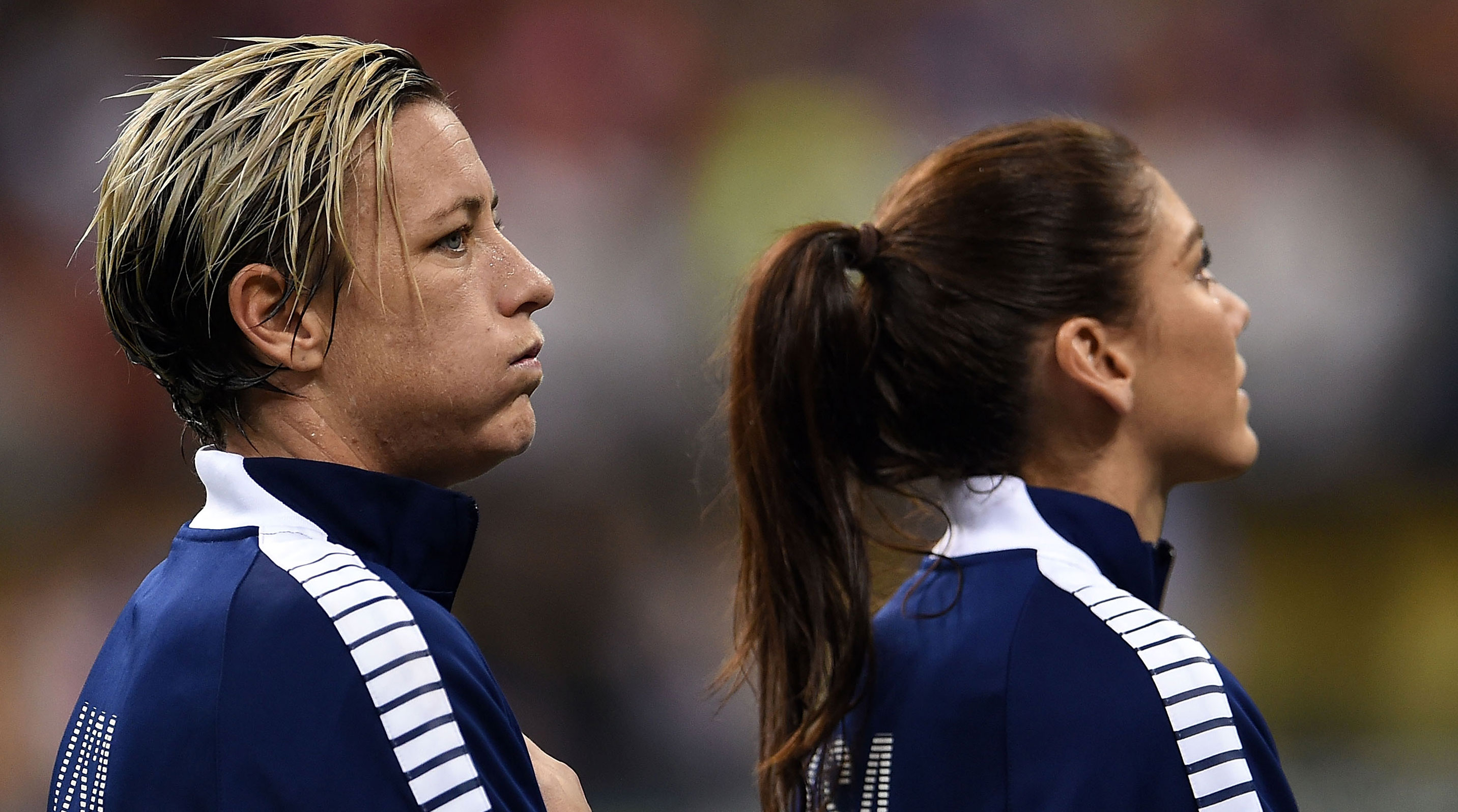 abby wambach hope solo