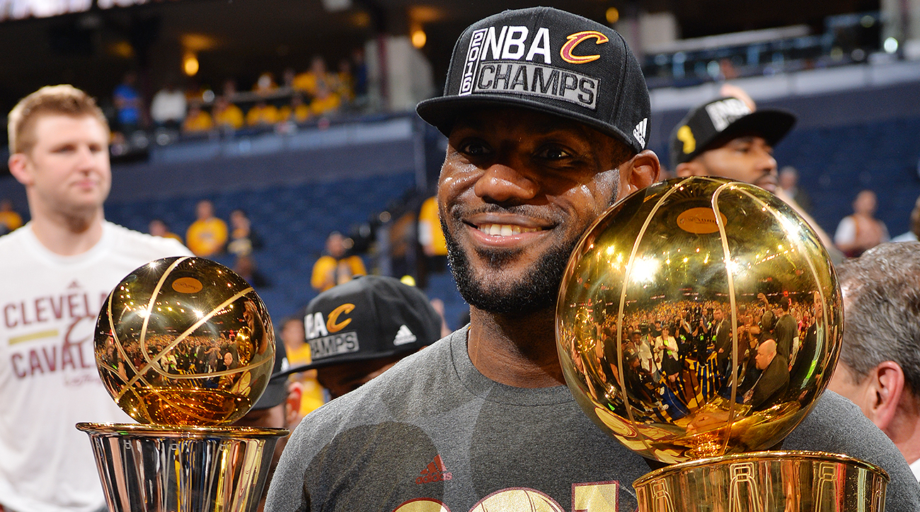 26f40c172a1 LeBron James: It's an honor to be chosen Sportsperson of the Year ...
