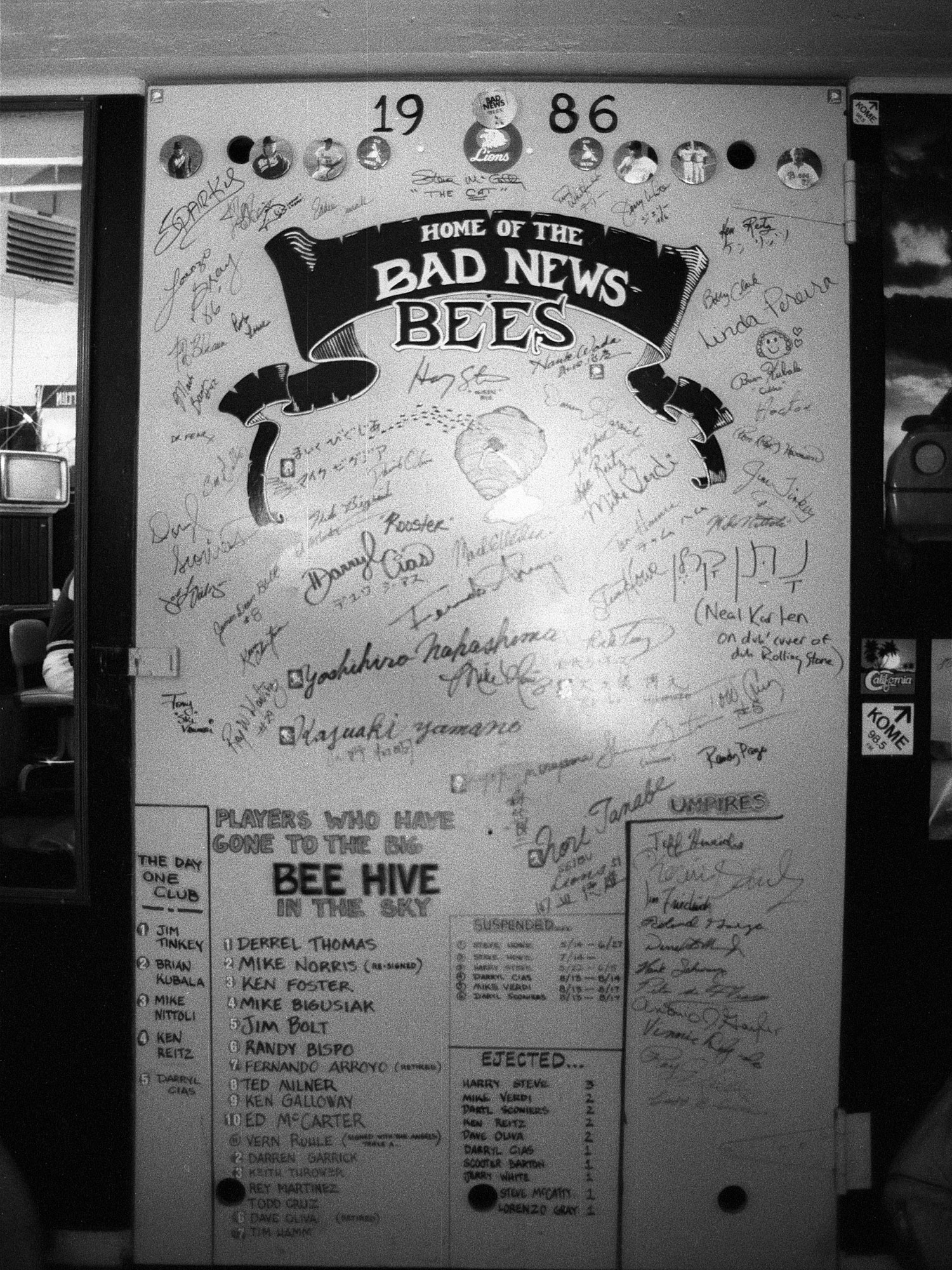 San Jose Bees door