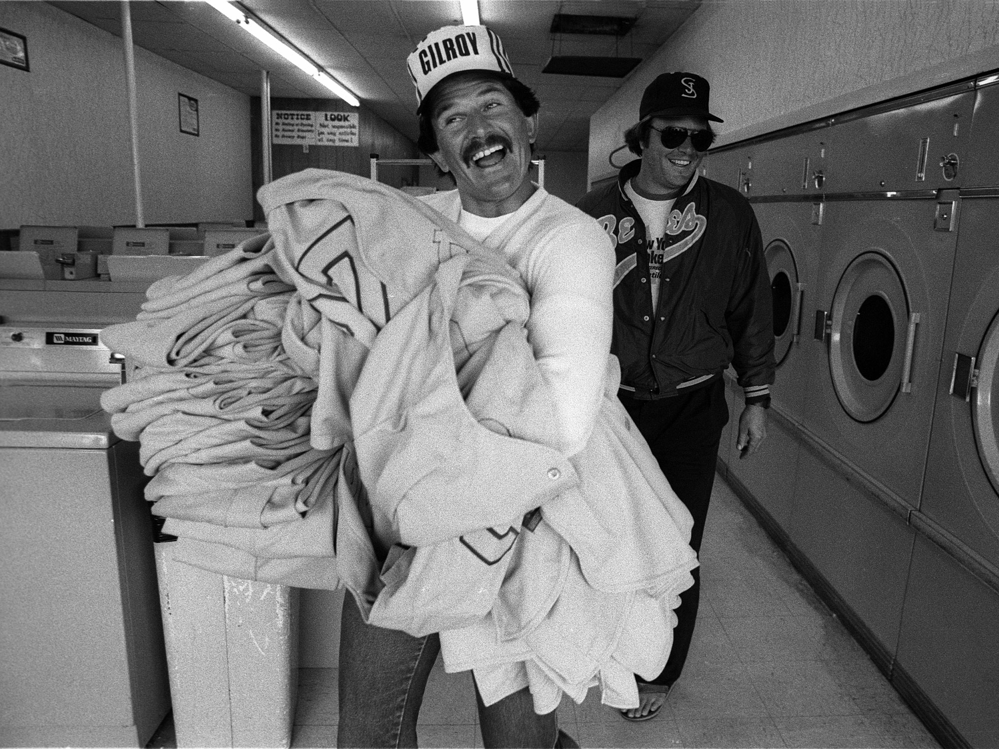 San Jose Bees laundry