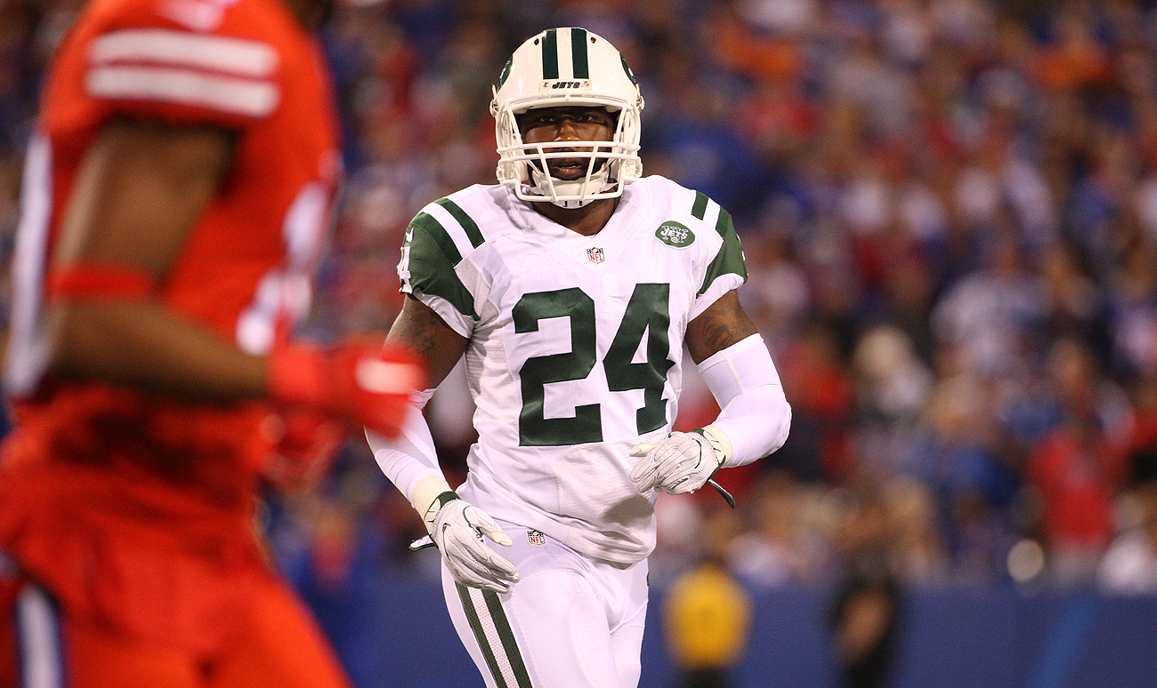 Jets star Darrelle Revis has proved vulnerable at cornerback so far this season.