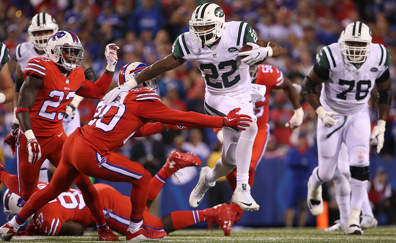 The Bills defense could not slow down Matt Forte and the Jets offense Thursday.