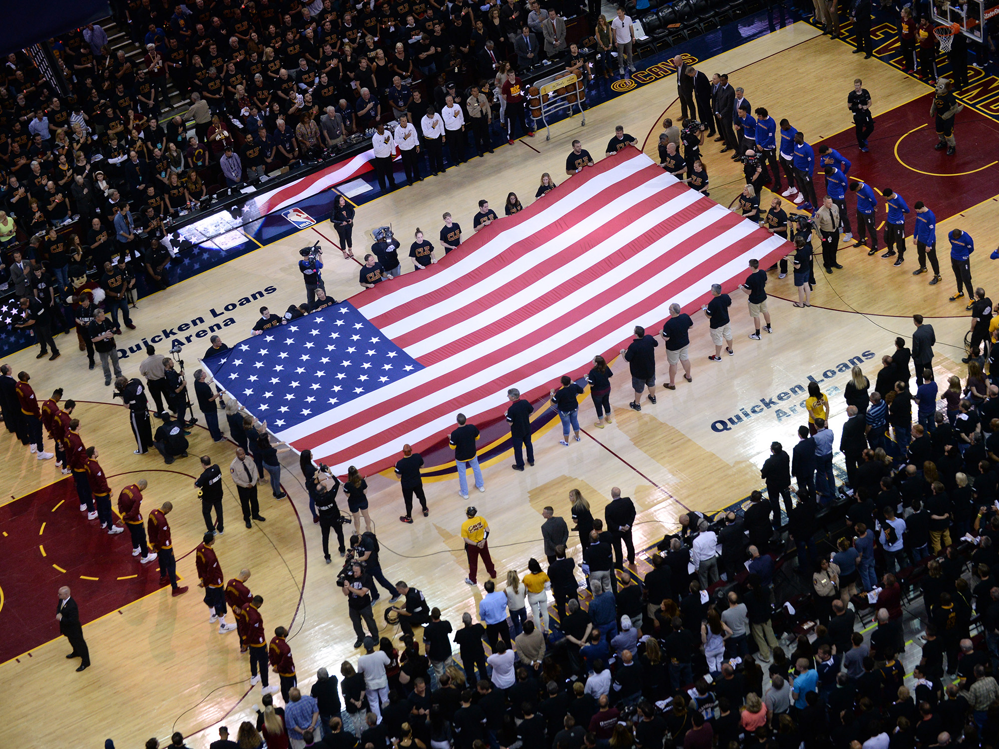 nba has chance to be proactive about national anthem protests com noah graham getty images