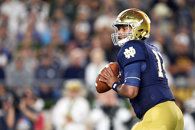 DeShone Kizer and Diverging Traits