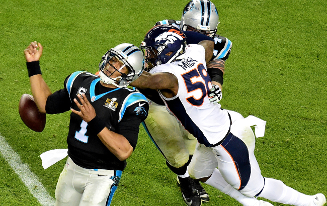 In SB 50, Cam Newton learned what happens when Miller foils all strategies to stop him.