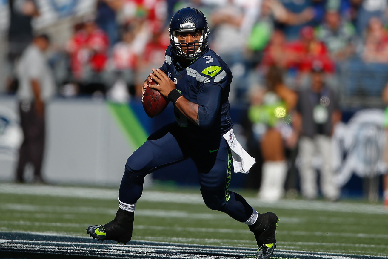 The Seahawks are off to a 2-1 start, but Russell Wilson has been slowed a bit by injuries.