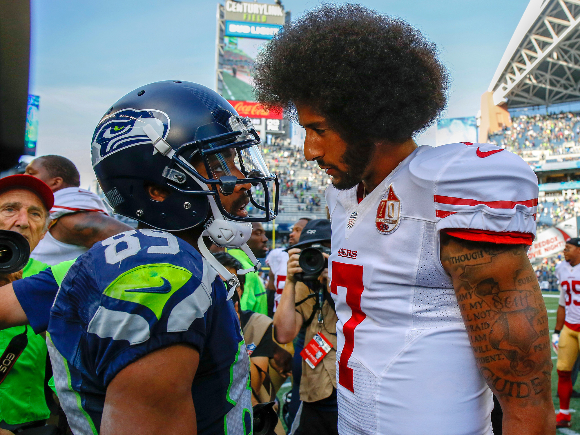 colin kaepernick protests ers qb has cemented legacy com getty images