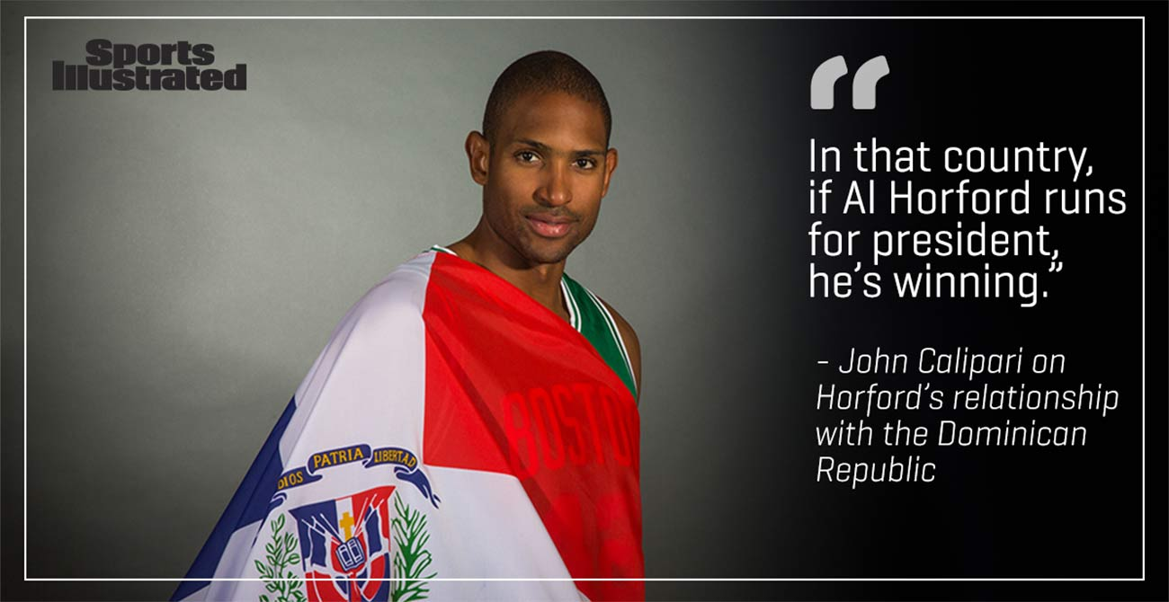 Al Horford Looks To Carry On Tradition In Boston Si Com