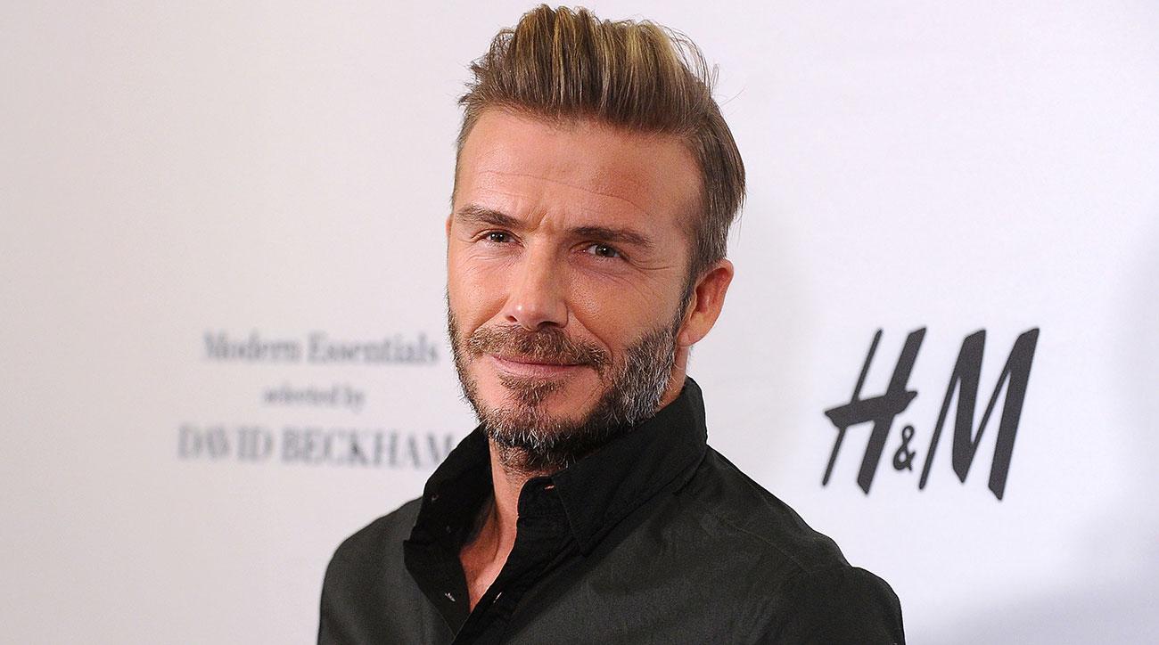 The actual David Beckham