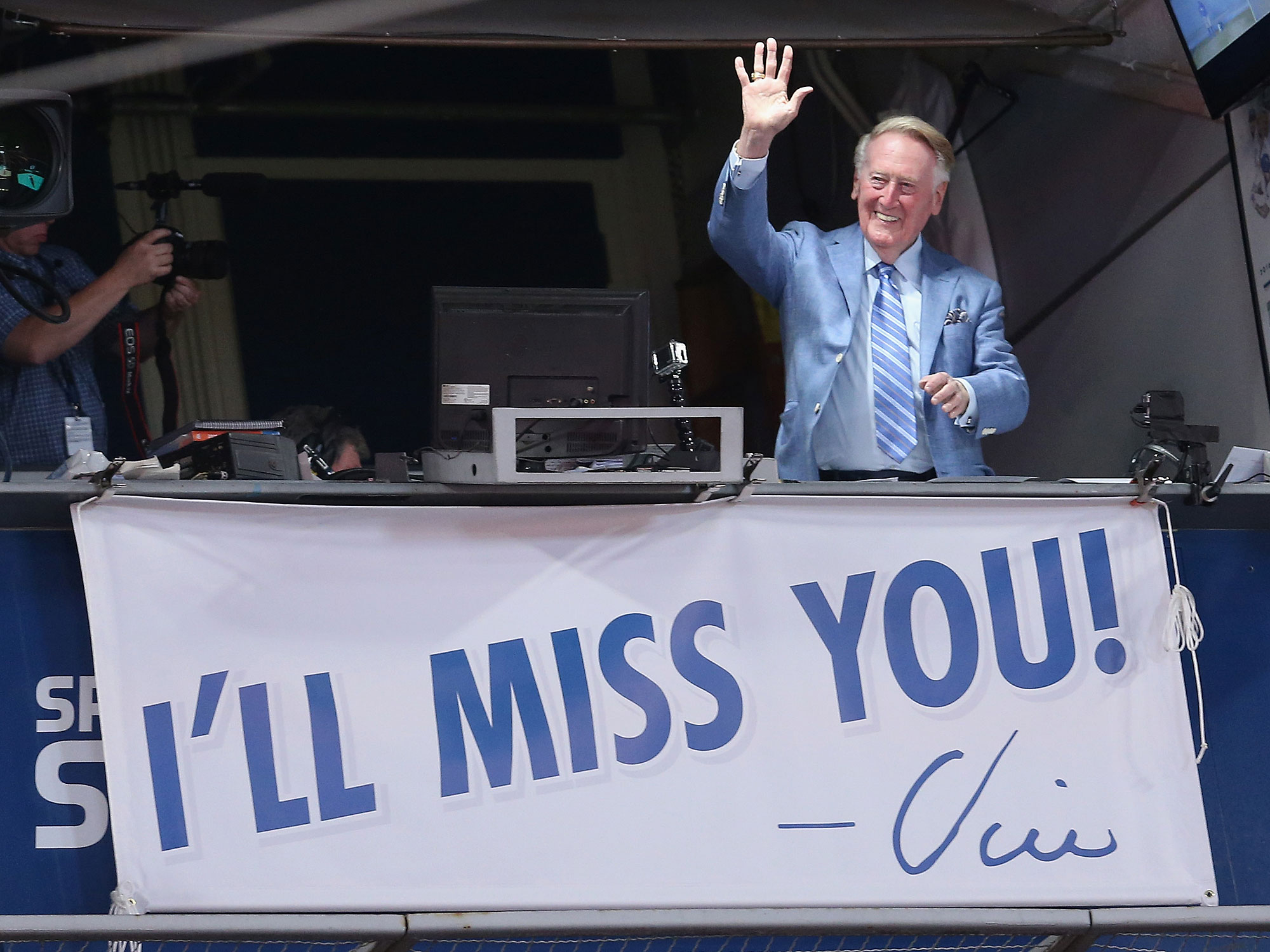 Vin Scully, Los Angeles Dodgers