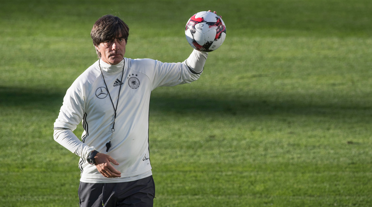 Germany manager Joachim Low leads the World Cup champions into World Cup qualifying
