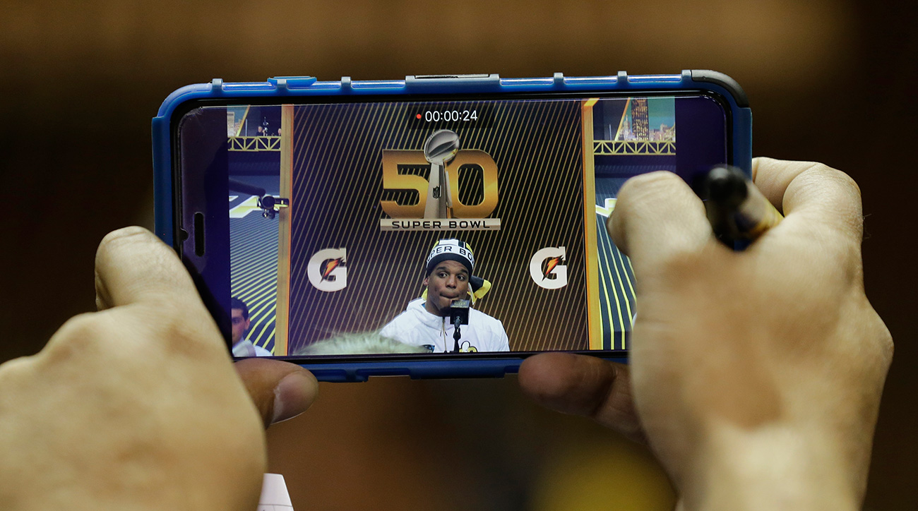 separation shoes ea9e7 57c57 Under Armour, Snapchat create interactive Cam Newton game ...