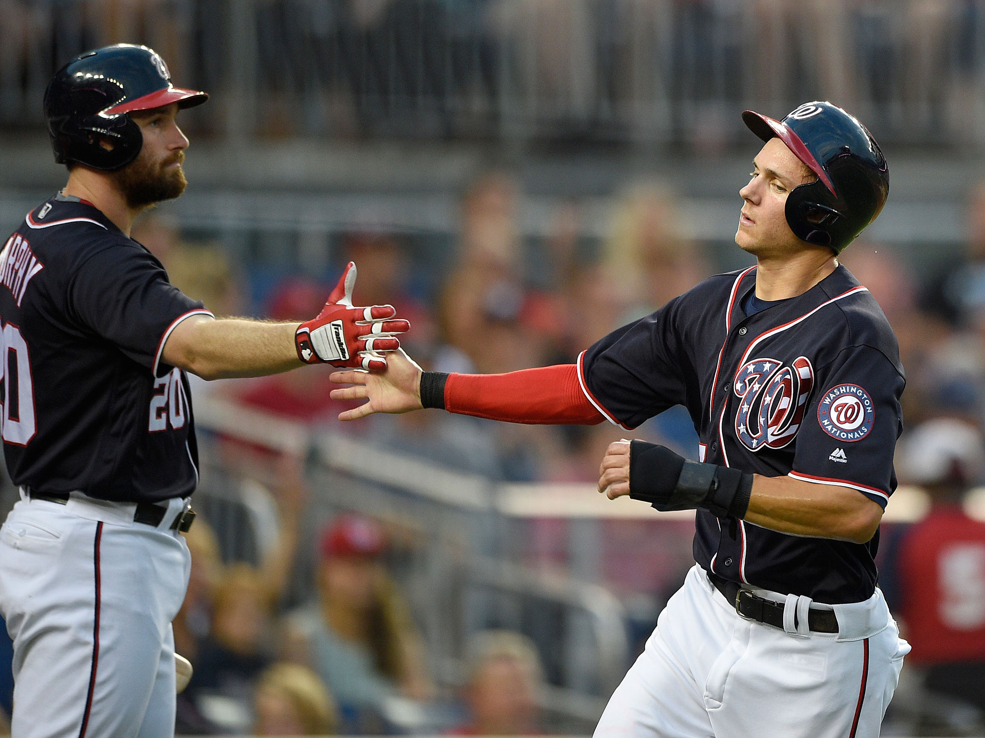 Daniel Murphy and Trea Turner, Washington Nationals