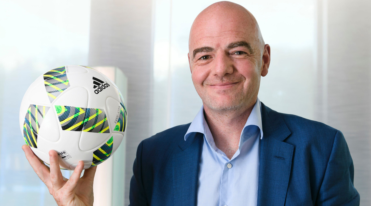 Gianni Infantino wants to expand the World Cup to 48 teams