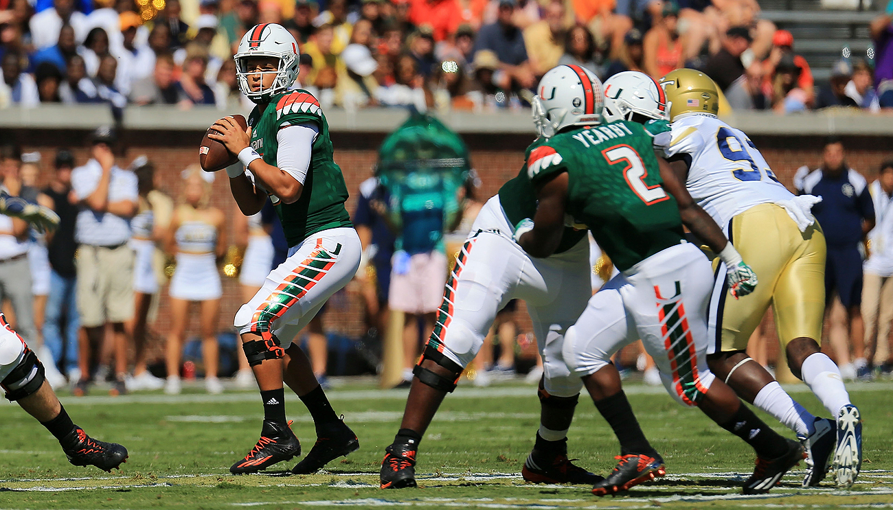 Brad Kaaya has helped Miami to a 4-0 start heading into its game against Florida State.