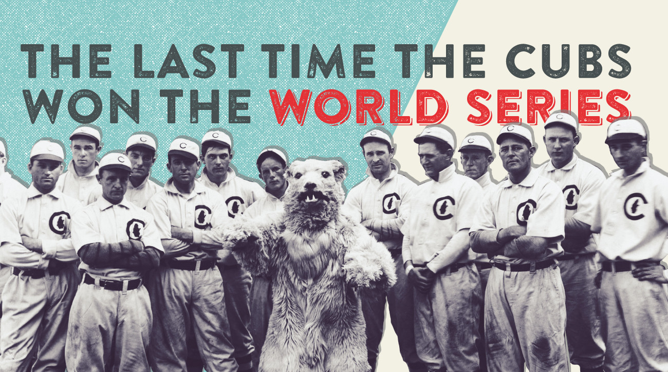 Chicago Cubs: Comparing world in 1908, 2016 | SI.com