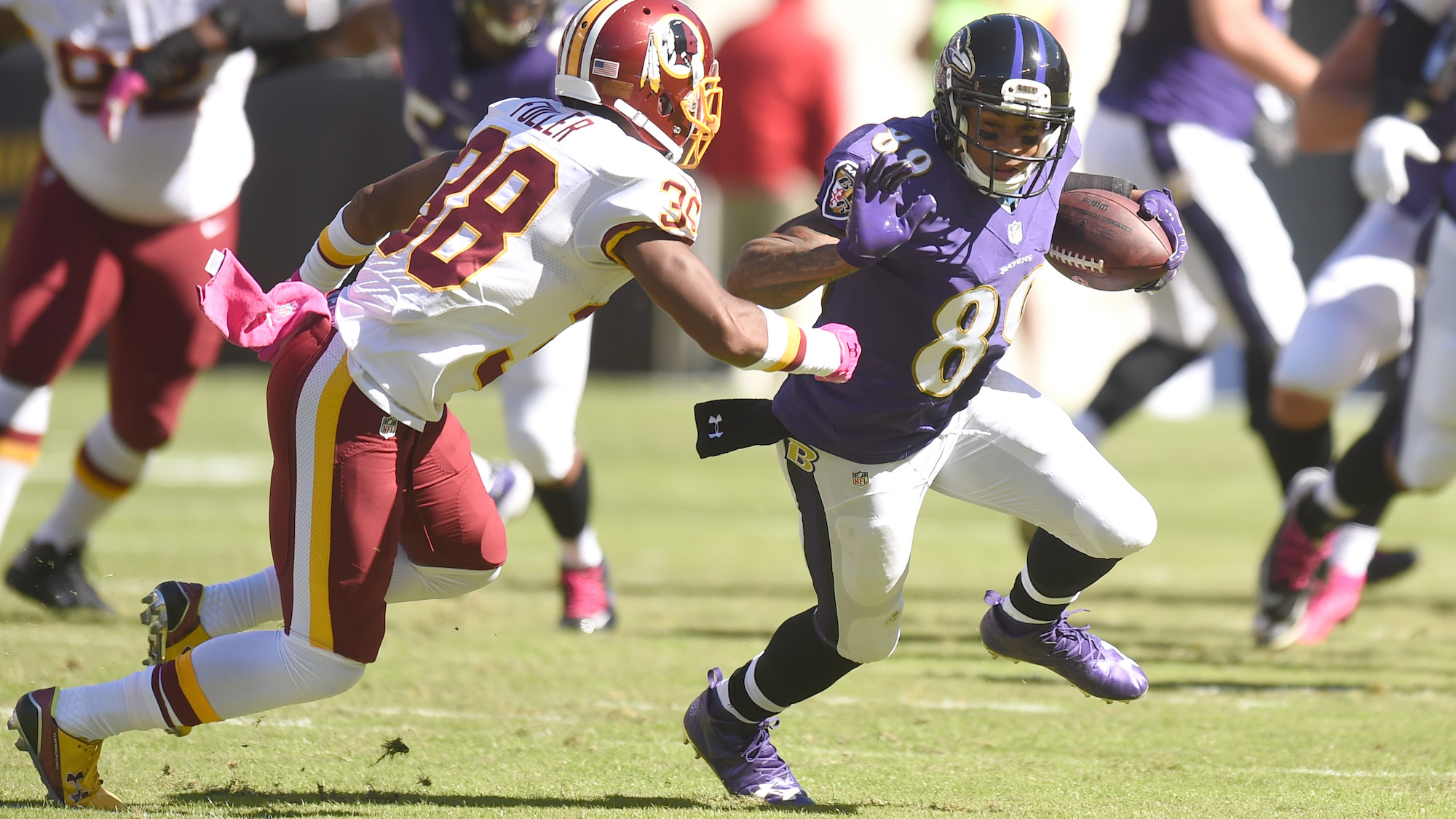 ravens steve smith ankle injury update