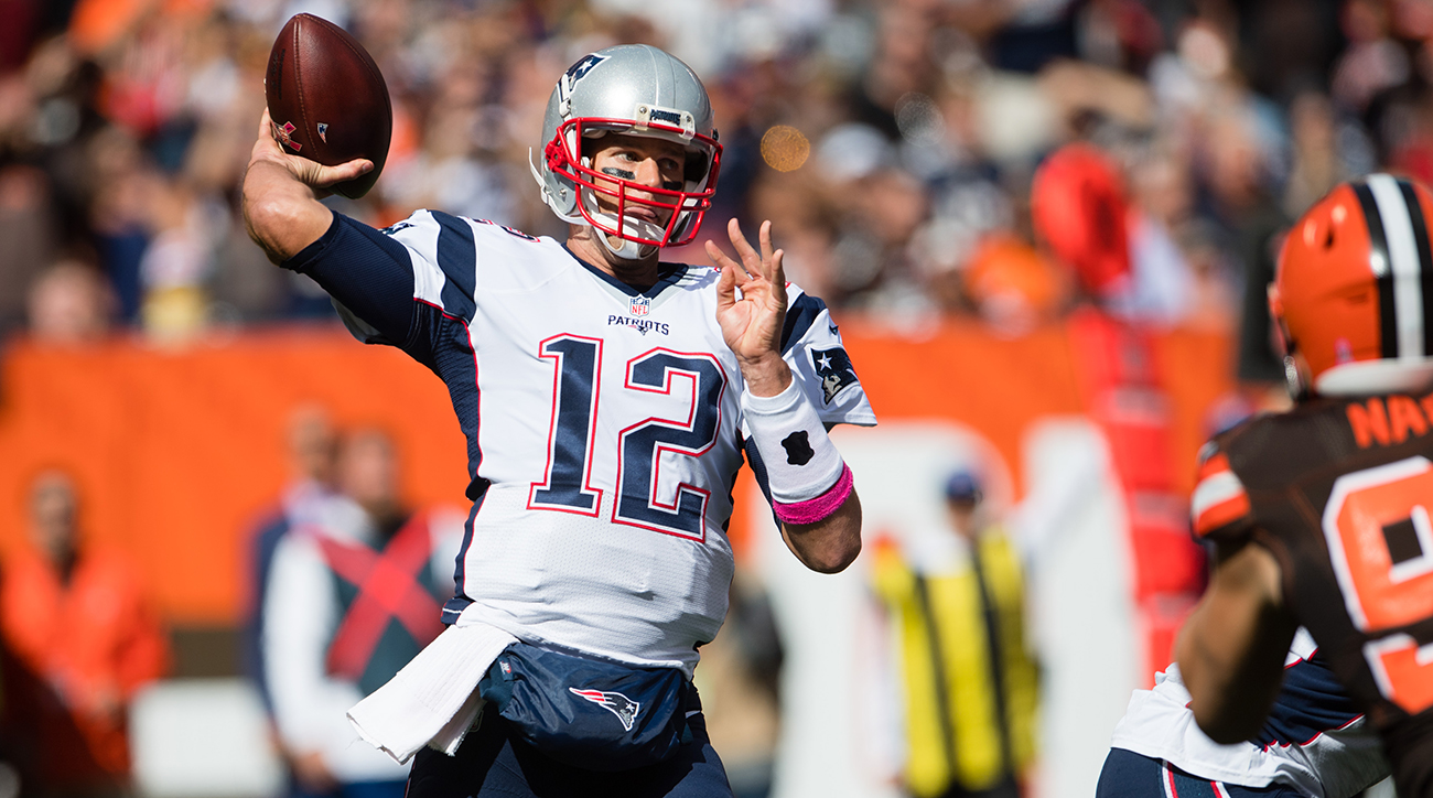 tom brady return patriots browns