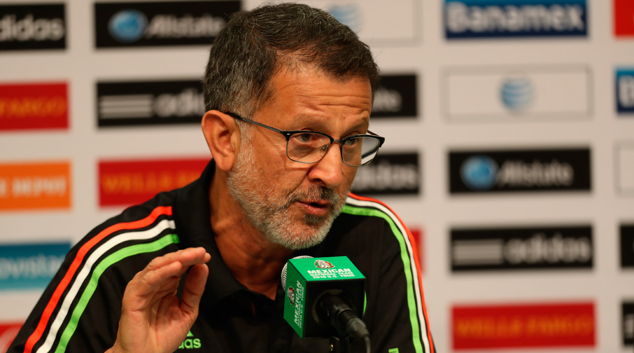 Mexico manager Juan Carlos Osorio is under pressure to deliver results