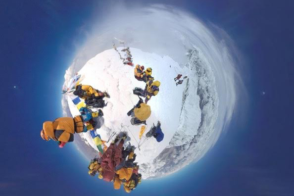 mount everest virtual reality sports illustrated