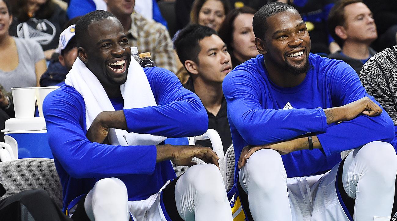 【影片】太歡樂了!格林與小喬丹聽聞杜蘭特「小號事件」狂笑不止-Haters-黑特籃球NBA新聞影音圖片分享社區