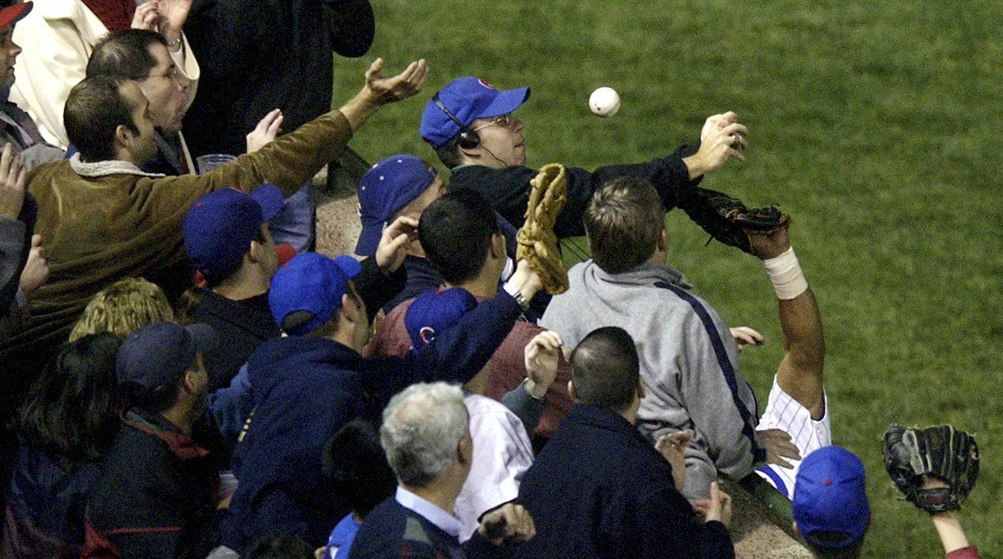 steve bartman chicago cubs foul ball incident anniversary