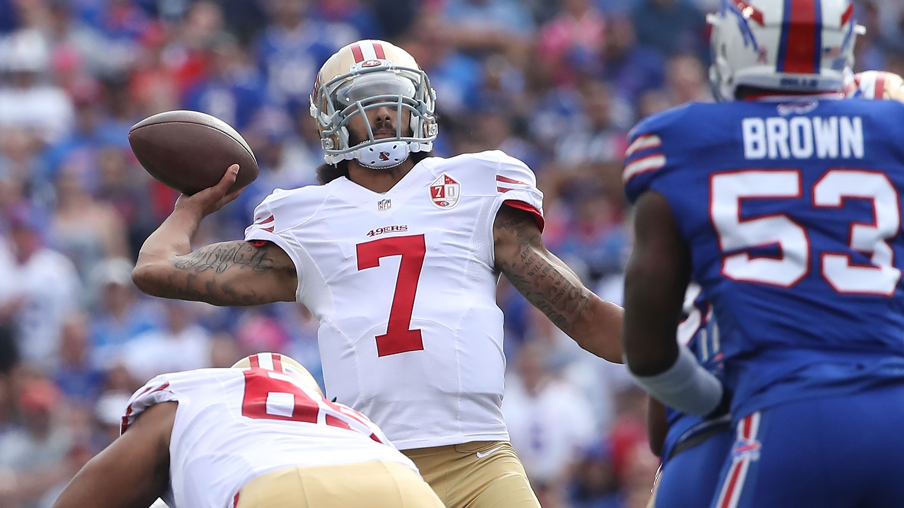 49ers colin kaepernick chip kelly starting week 7 buccaneers