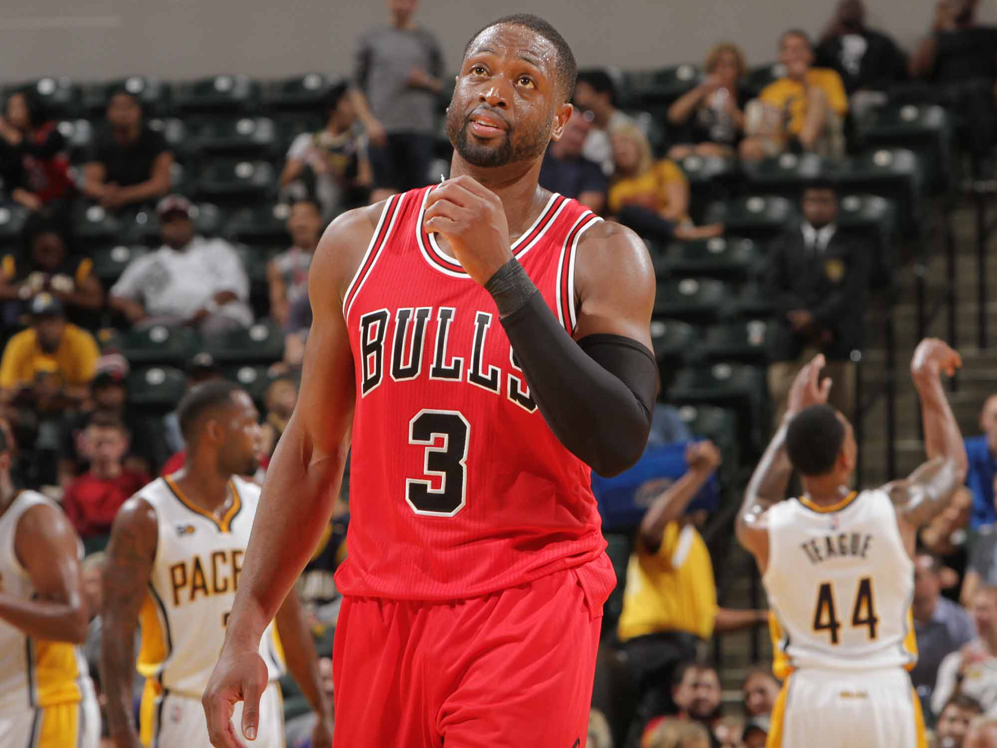 Dwyane Wade Is Finally A Chicago Bull