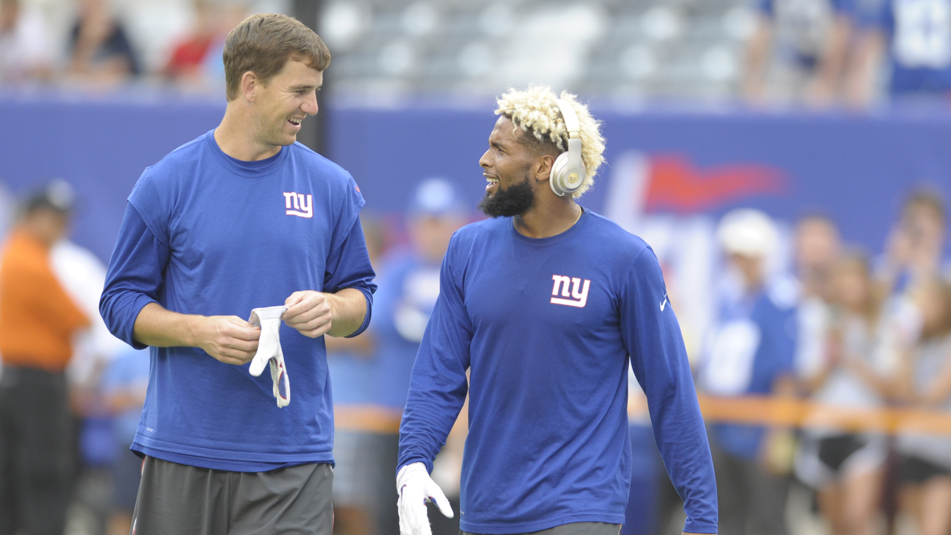 Eli Manning Odell Beckham s antics could be an issue