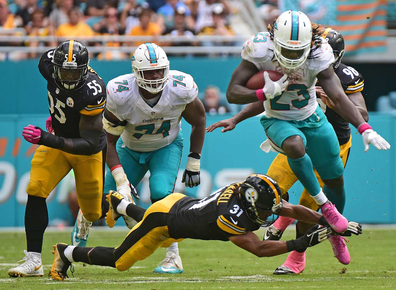 NFL fantasy football Week 6 lessons Jay Ajayi gives Dolphins