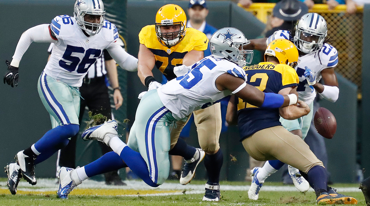 Aaron Rodgers' turnovers proved costly in the Packers' loss to the Cowboys.