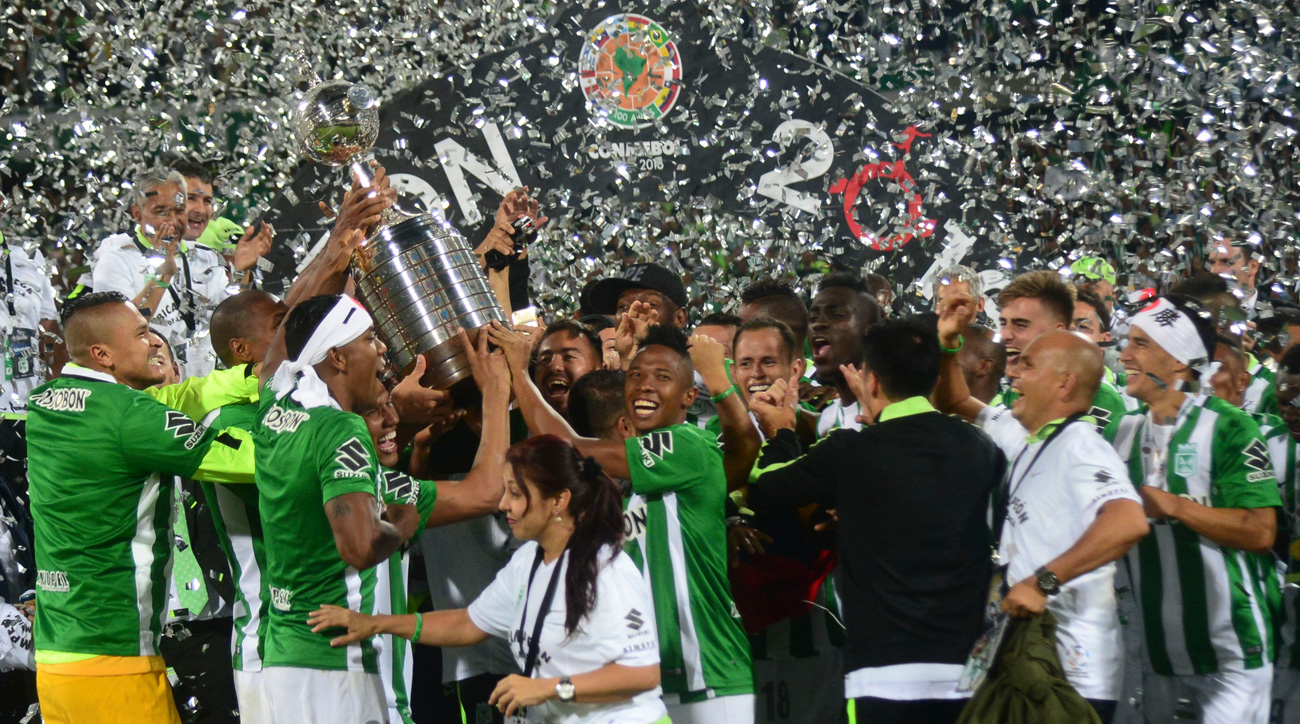 Atletico Nacional wins the 2016 Copa Libertadores
