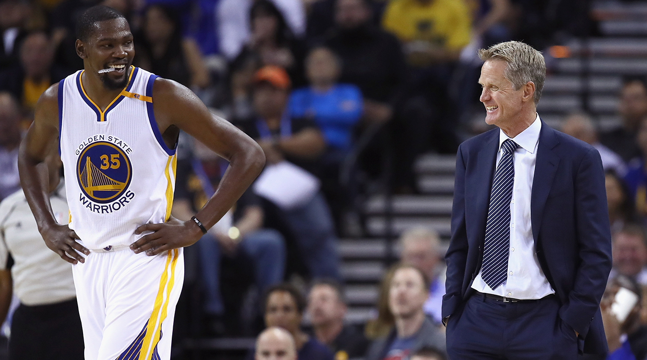 Steve Kerr: Kevin Durant will be Gary Johnson of MVP race ...