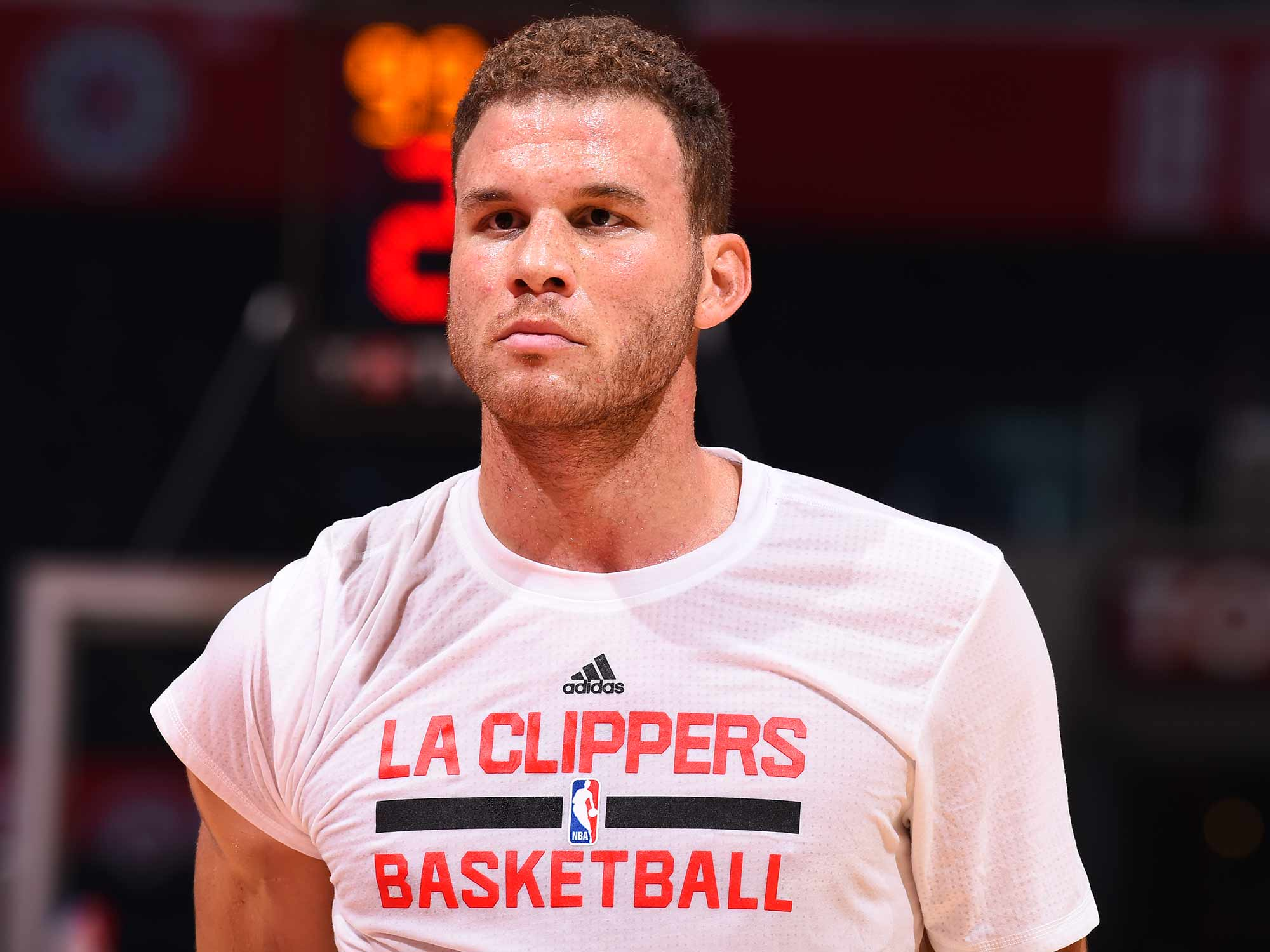 Clippers Blake Griffin Is Ready To Flex Si