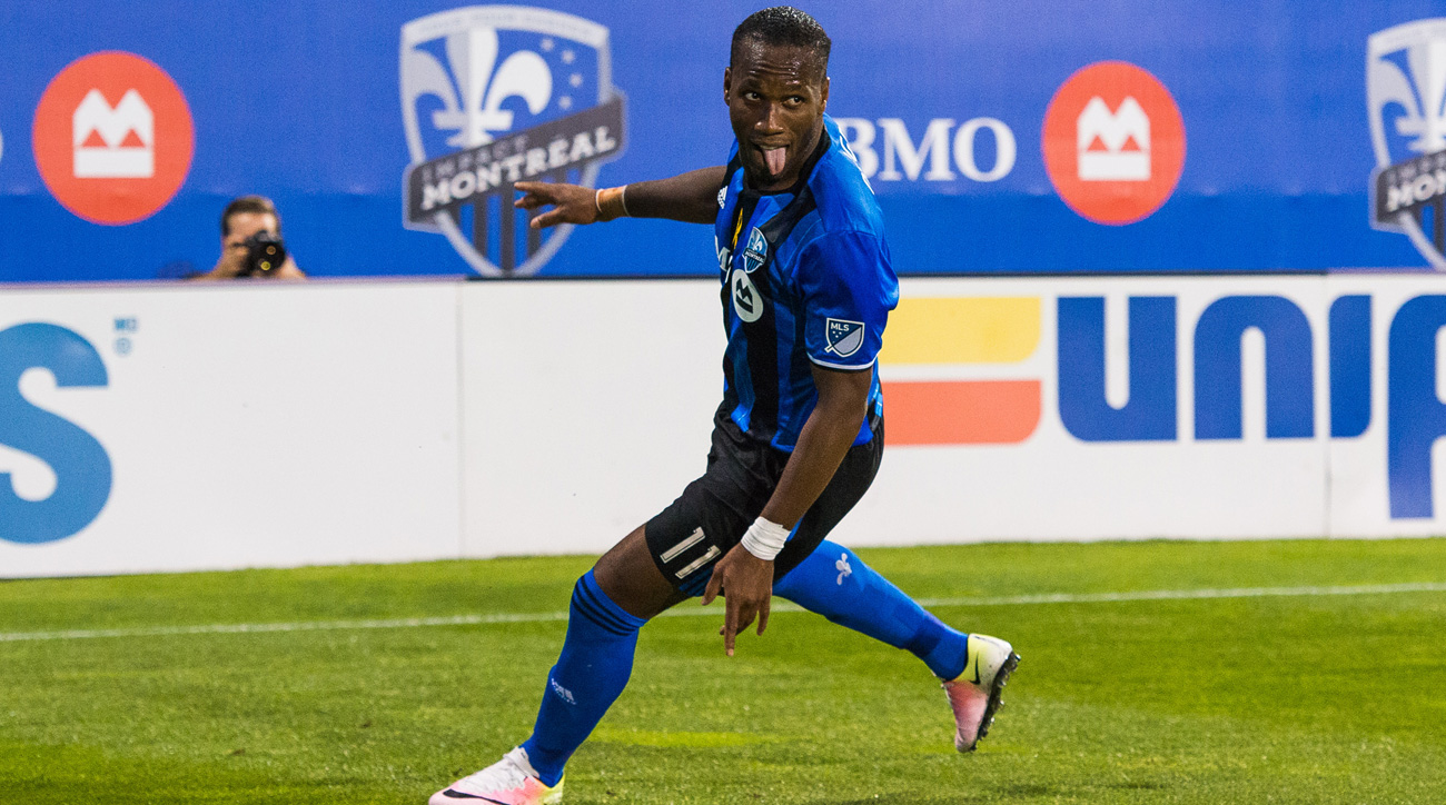 Didier Drogba could be a wildcard in the playoffs for the Montreal Impact