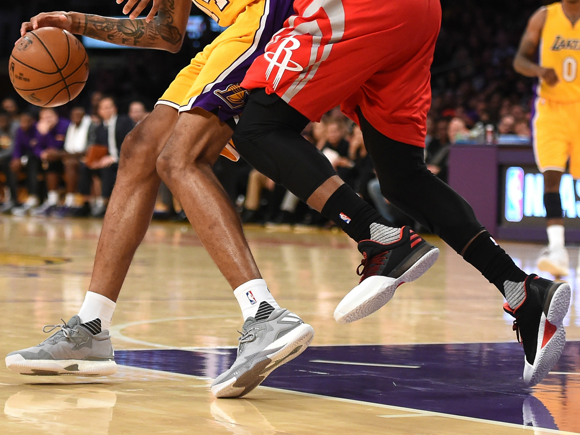 James Harden & Brandon Ingram - adidas Harden Vol. 1, adidas Crazylight Boost 2016