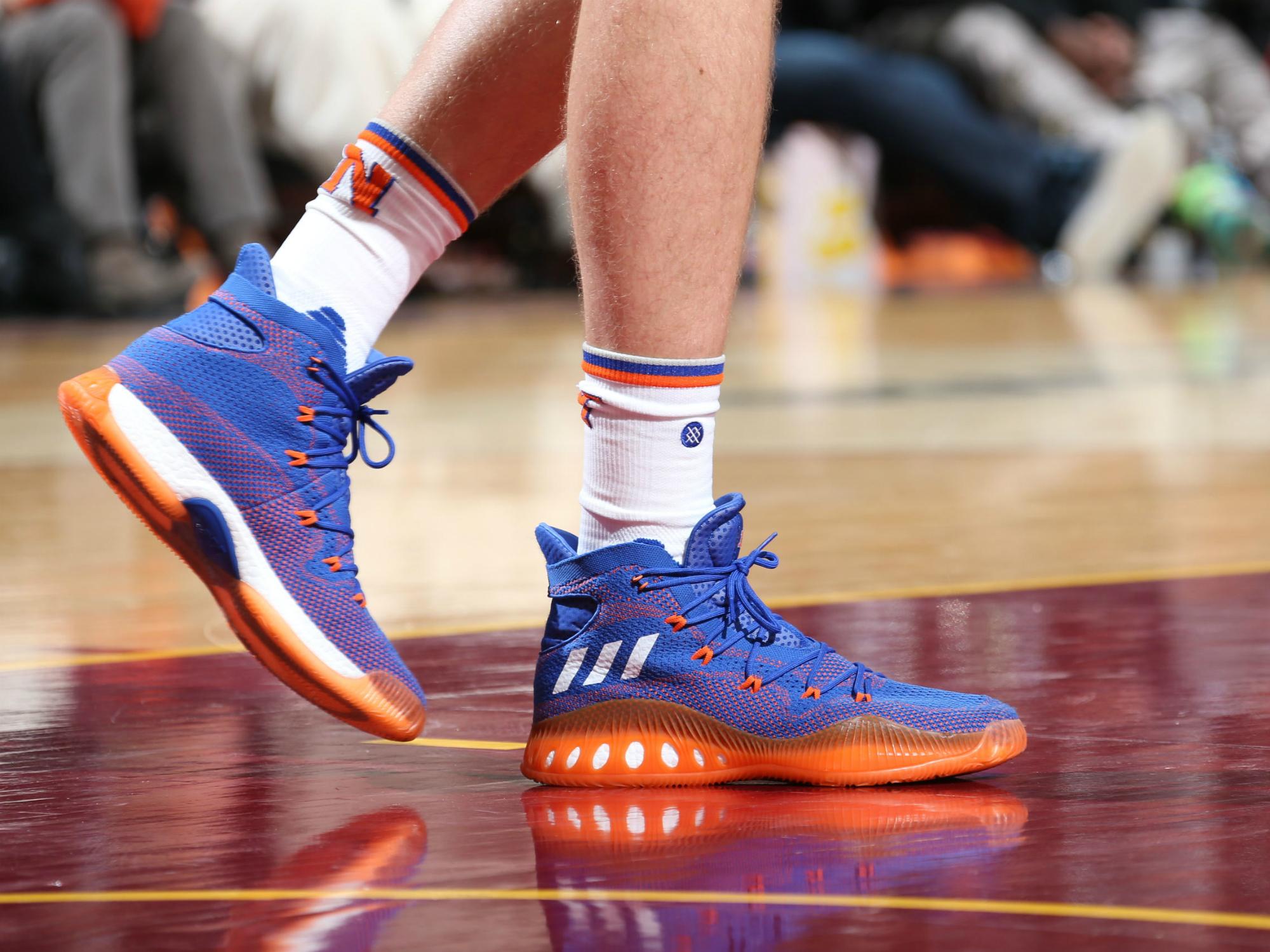 "Kristaps Porzingis - adidas Crazy Explosive ""Knicks PE"""