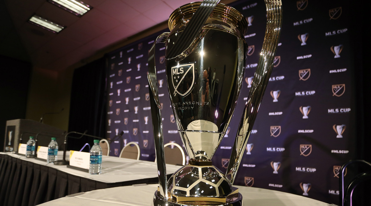 The MLS Cup trophy will be lifted on December 10