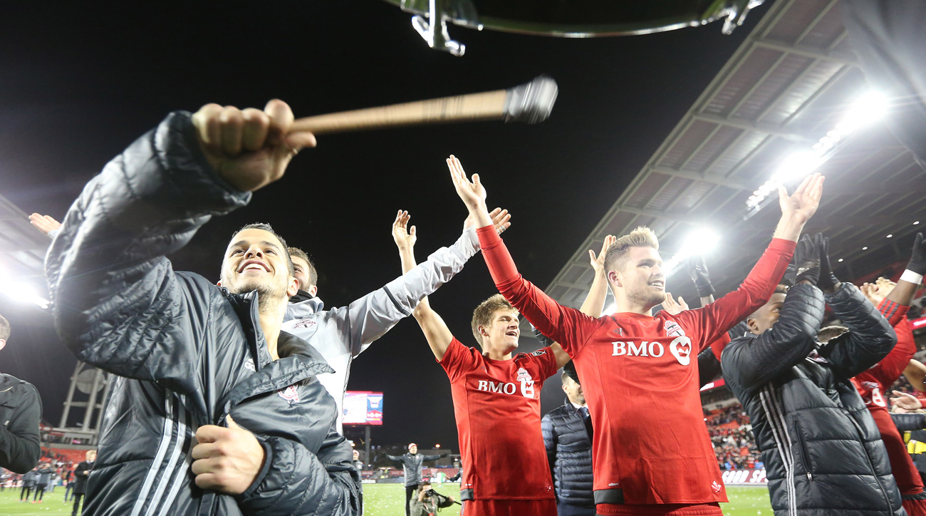 Toronto FC won its first playoff game in team history