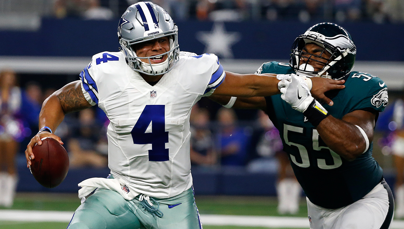 Dak Prescott and the Cowboys beat the Eagles in overtime and now have a two-game cushion atop the NFC East.