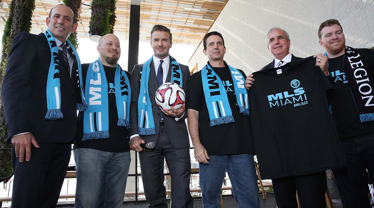 David Beckham still doesn't have an MLS team in Miami